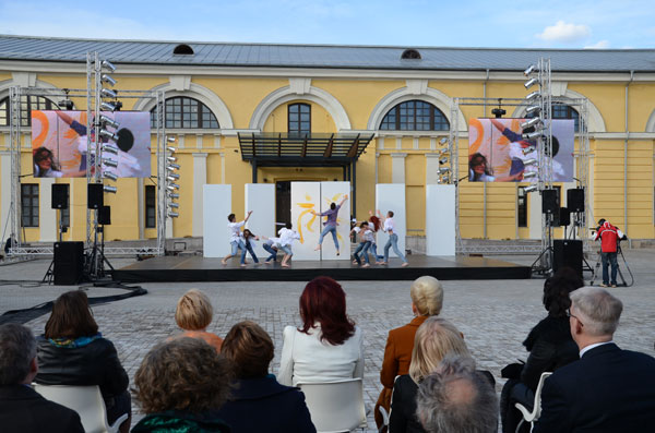 Opening ceremony for the Mark Rothko Art Center in the Latvian city Daugavpils