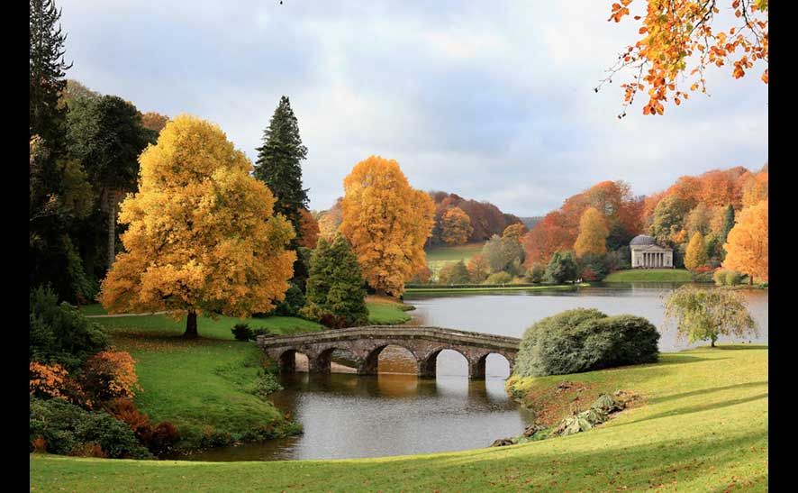 Matt Cardy 'Autumn 2010 at Stourhead'