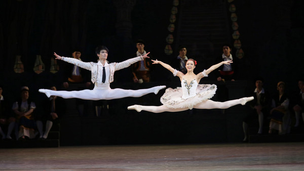 Kim Kimin and Elena Evseeva in 'Don Quixote'