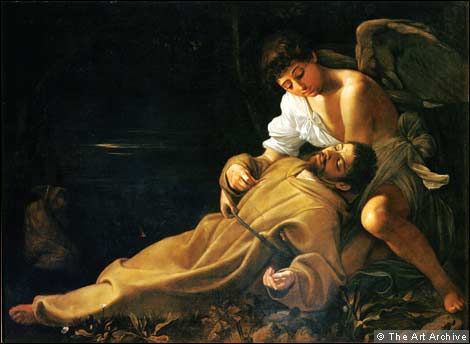 Caravaggio's 'Saint Francis of Assisi in Ecstasy'