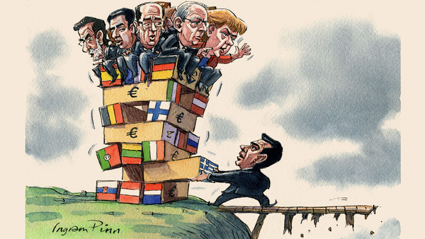 Illustration by Ingram Pinn