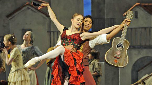 Marianela Núñez and Carlos Acosta in 'Don Quixote'