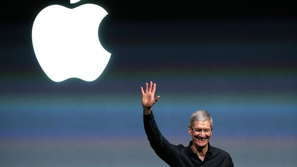 Post-Jobs challenge: Tim Cook will look to step out from his predecessor's shadow on Tuesday with the launch of a new phone