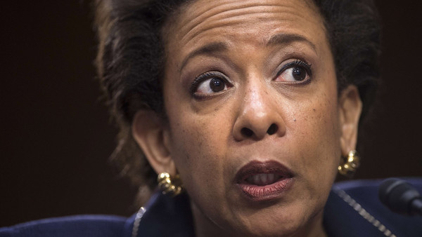 US attorney-general Loretta Lynch said the banks' penalty was 'fitting'. 'It's commensurate with the pervasive harm that was done'