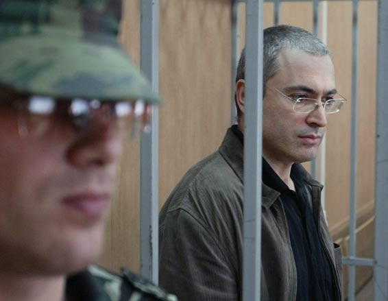 Mikhail Khodorkovsky, once Russia's richest and most powerful oligarch, in jail