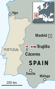 Trujillo map