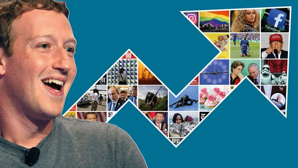 does facebook bend the trends that govern our news?
