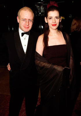Nigella Lawson with first husband John Diamond in 1997