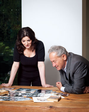 Nigella Lawson and Simon Schama