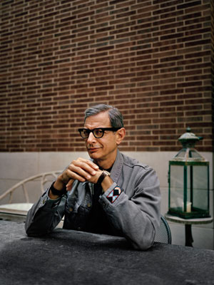 Jeff Goldblum at the Crosby Street Hotel, New York City, New York, September 2013