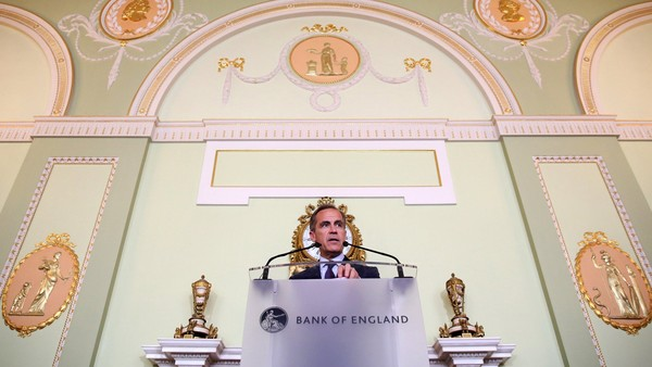 Mark Carney, governor of the Bank of England (BOE), speaks during a news conference in the City of London, U.K., on Thursday, June 30, 2016. Carney said the Bank of England will probably have to loosen policy within months to deal with the fallout of the Brexit vote as he warned that there's only so much he can do to protect the economy. Photographer: Chris Ratcliffe/Bloomberg