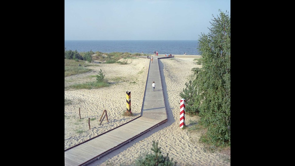 Germany-Poland border, between Swinoujscie (Poland) and Seebad Heringsdorf (Germany), 2012