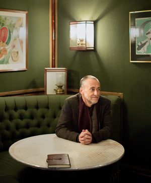 Chef proprietor Michel Roux Jr at Le Gavroche, London
