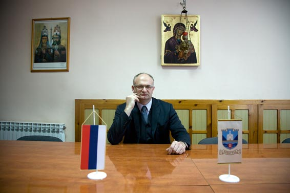 Tomislav Popovic, Mayor of Visegrad
