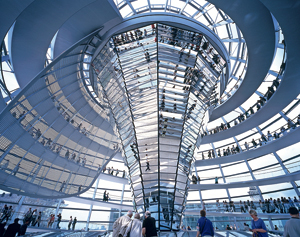 Foster and Partners' Reichstag building in Berlin