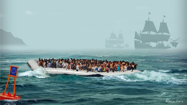 Mass migration into Europe is unstoppable