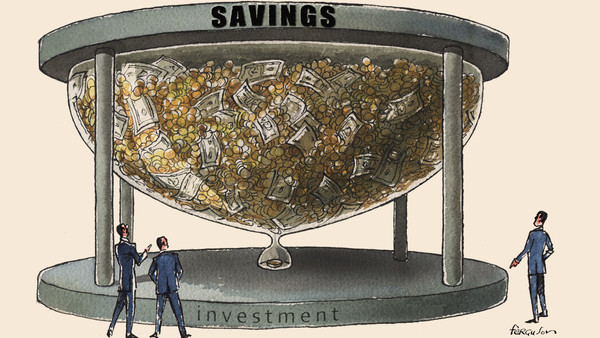 James Ferguson illustration, Savings