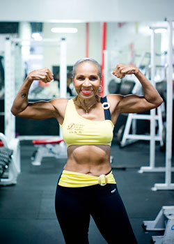 Ernestine Shepherd is a 76 year old bodybuilder