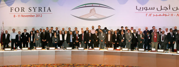 First meeting of the National Coalition, Qatar, November 2012