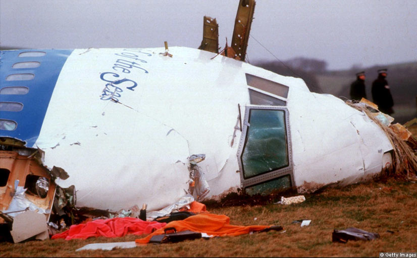 On December 21, 1988, Pan Am Flight 103 from London to New York was blown up over the Scottish town of Lockerbie, killing all 259 people on board