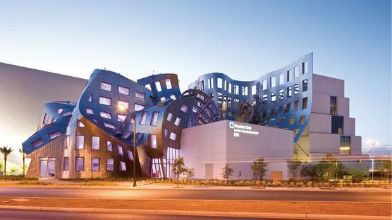 Gehry's Cleveland Clinic Lou Ruvo Center for Brain Health in Las Vegas