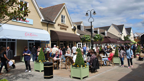 Bicester Village designer shopping outlet