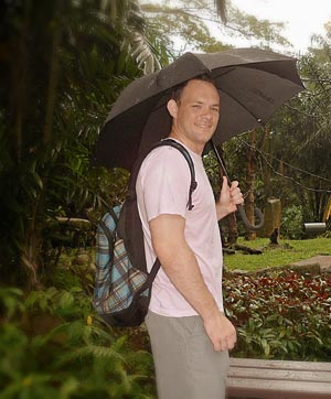 Shane at Singapore Zoo in May 2012