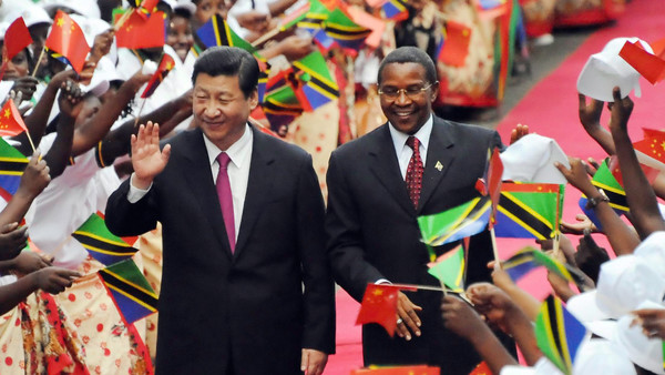 African News is dominated by Chines President Xi Jinping's visit to the continent.