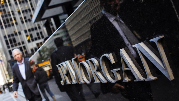 The DoJ said JPMorgan traders were among those to use 'an exclusive electronic chatroom and coded language' to manipulate rates