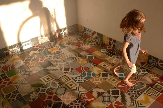 Patchwork tiles by Popham Design. From £95.51 per sq metre (excluding VAT) www.pophamdesign.com