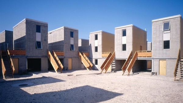 Alejandro Aravena and Elemental's Quinta Monroy housing development in Iquique, Chile