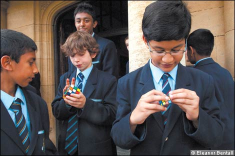 Boys at Queen Elizabeth's School