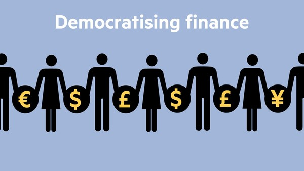 Democratising Finance - cover