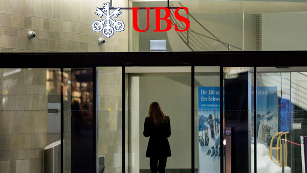 Shady dealings: the DoJ said UBS had engaged in deceptive trading and sales practices, including 'undisclosed mark-ups'