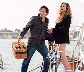 Nick Wechsler and Margarita Levieva in 'Revenge'