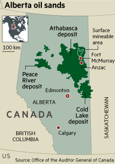 New oil order: Leaner times for Canada's 'Fort McMoney'