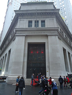 23 Wall Street, the former JPMorgan building in New York now owned by China Sonangol