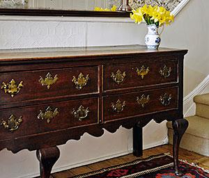 Lucy Kellaway's 18th-century oak dresser