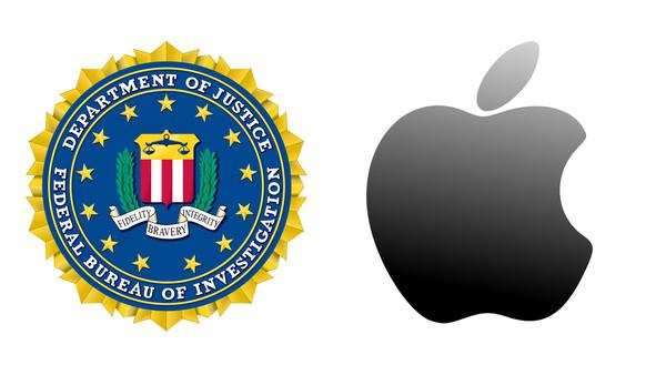FBI and Apple logos