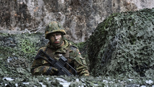 Germany To Boost Troop Numbers For First Time Since Cold
